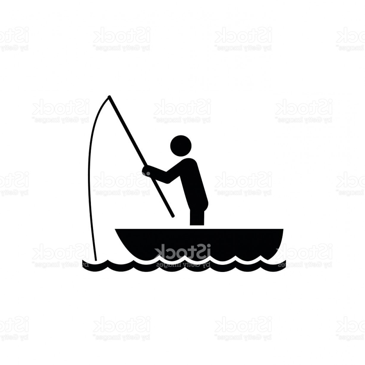 Bass Boat Silhouette At Getdrawings