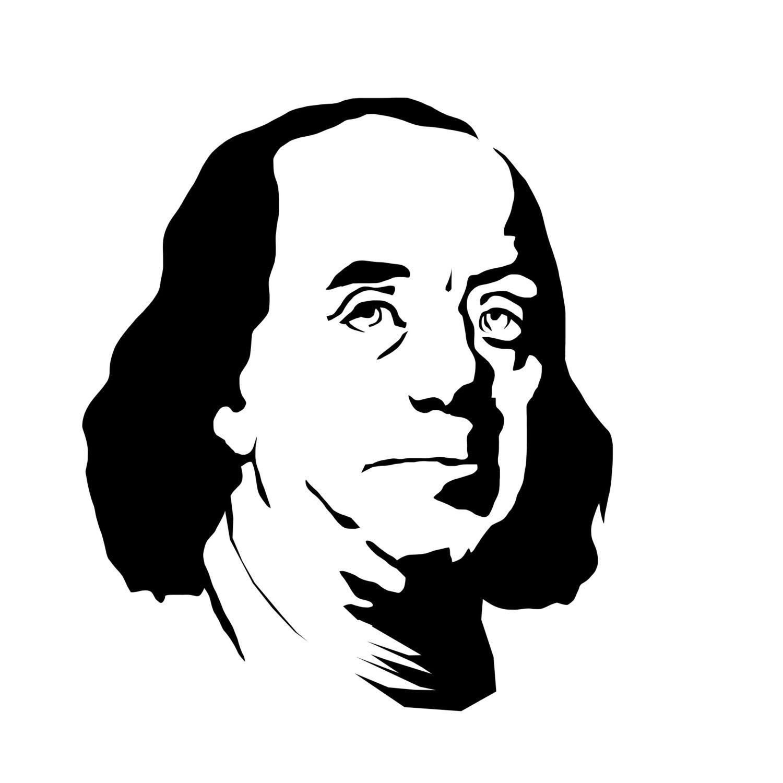 Benjamin Franklin Silhouette At Getdrawings
