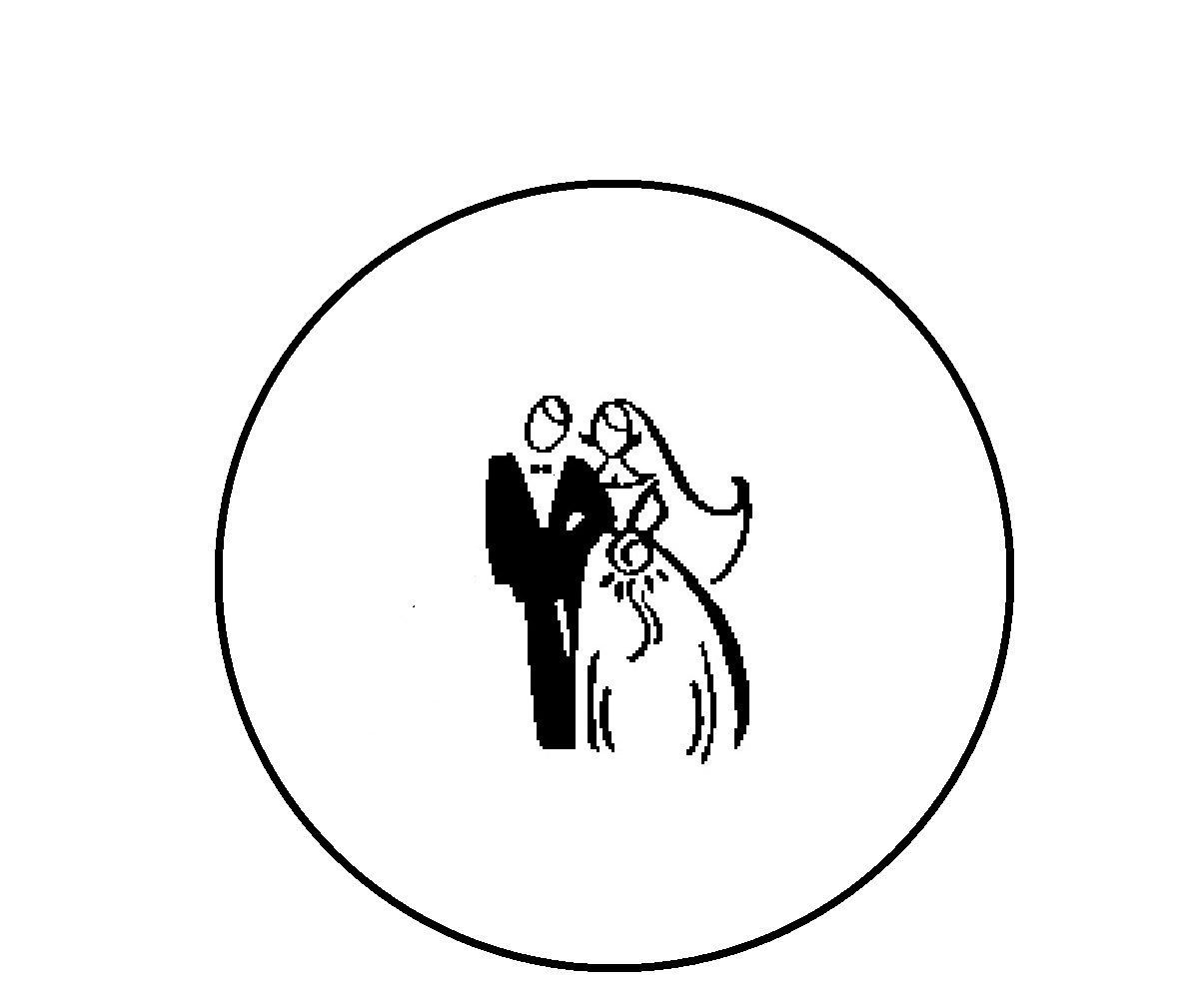 Bride And Groom Silhouette Free Clip Art At Getdrawings