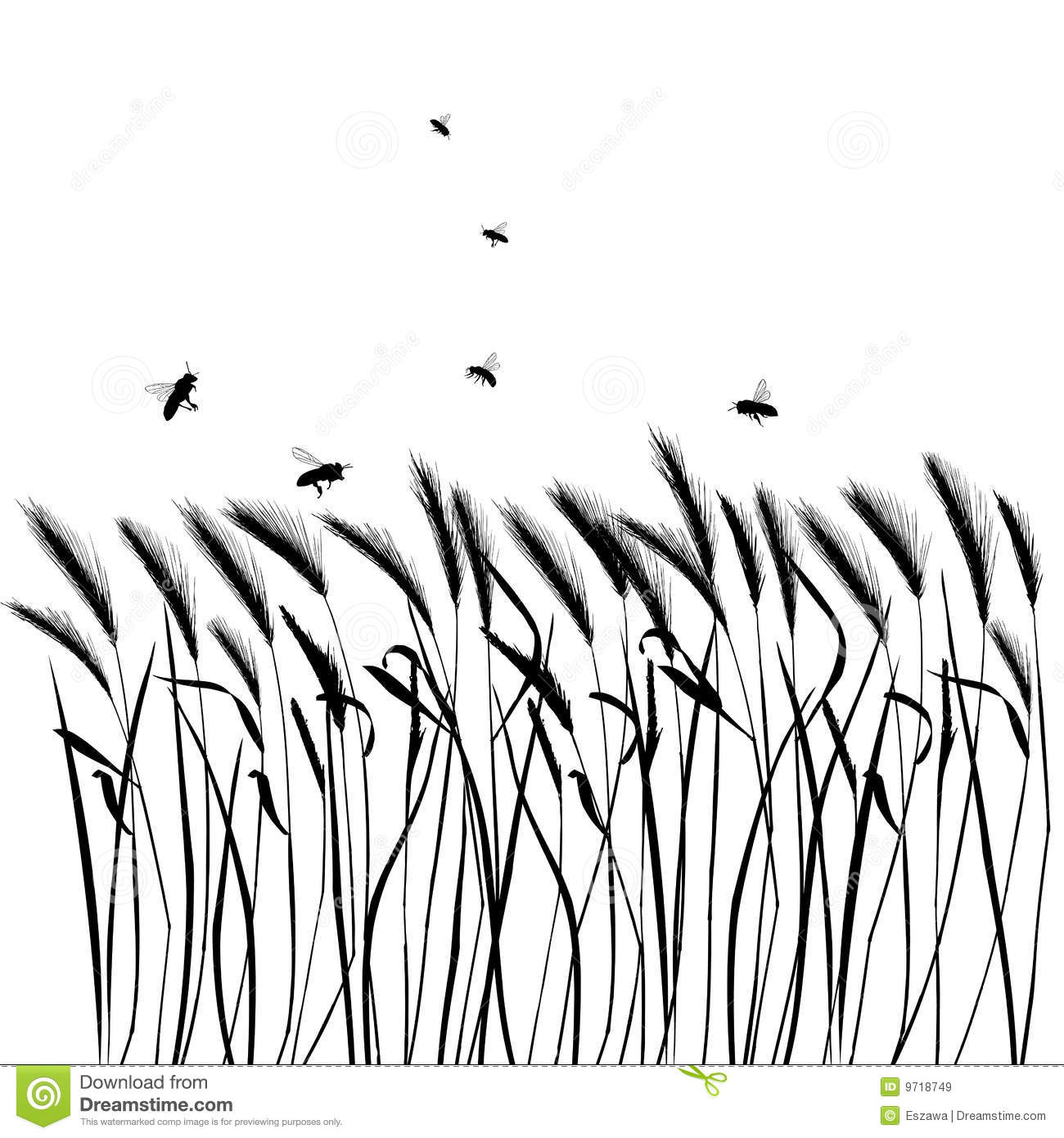 Realistic Grass Drawing At Getdrawings
