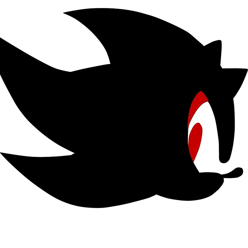 Shadow Car Hedgehog Decal