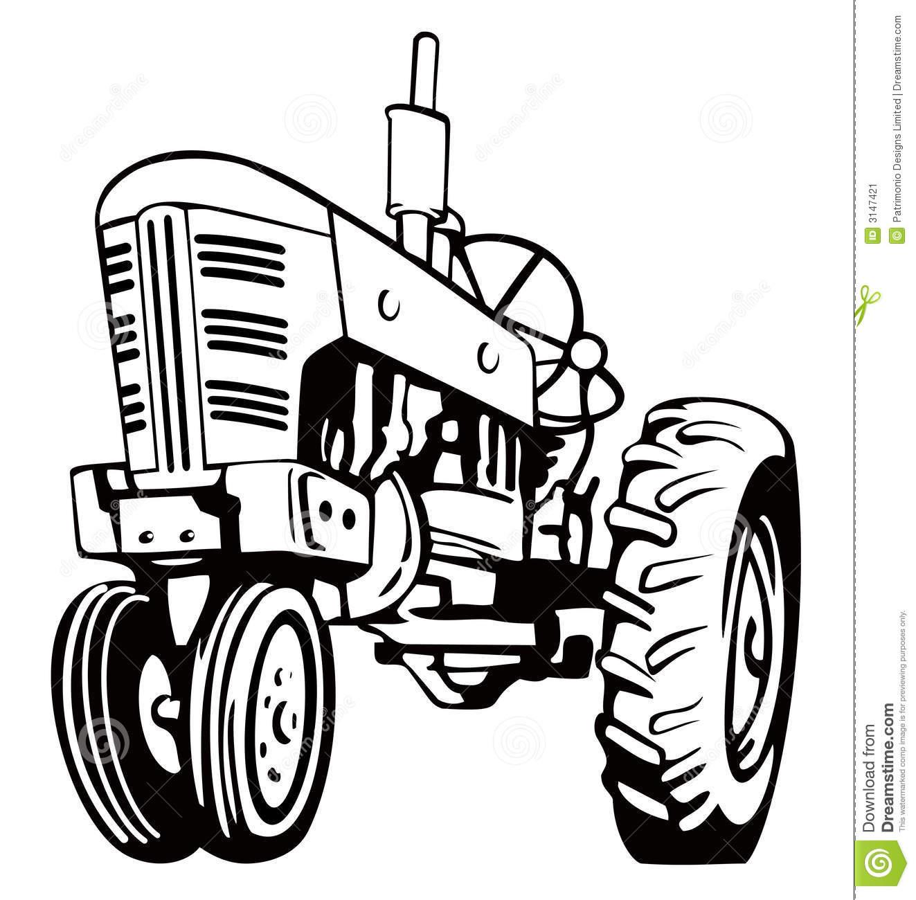 John Deere Tractor Silhouette At Getdrawings