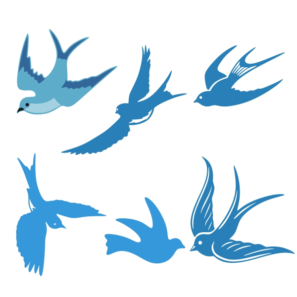 Download Love Bird Silhouette Vector at GetDrawings   Free download
