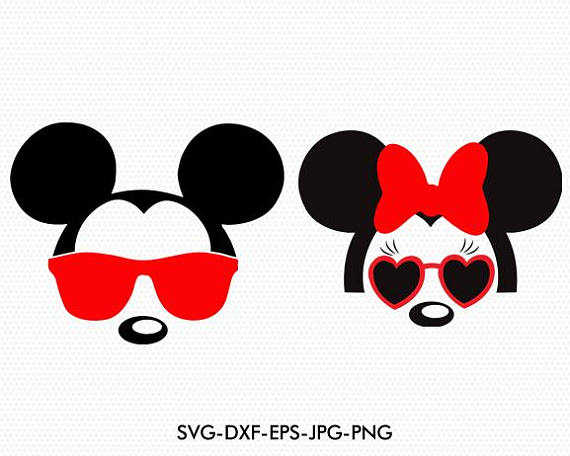 Download Mickey And Minnie Silhouette at GetDrawings | Free download