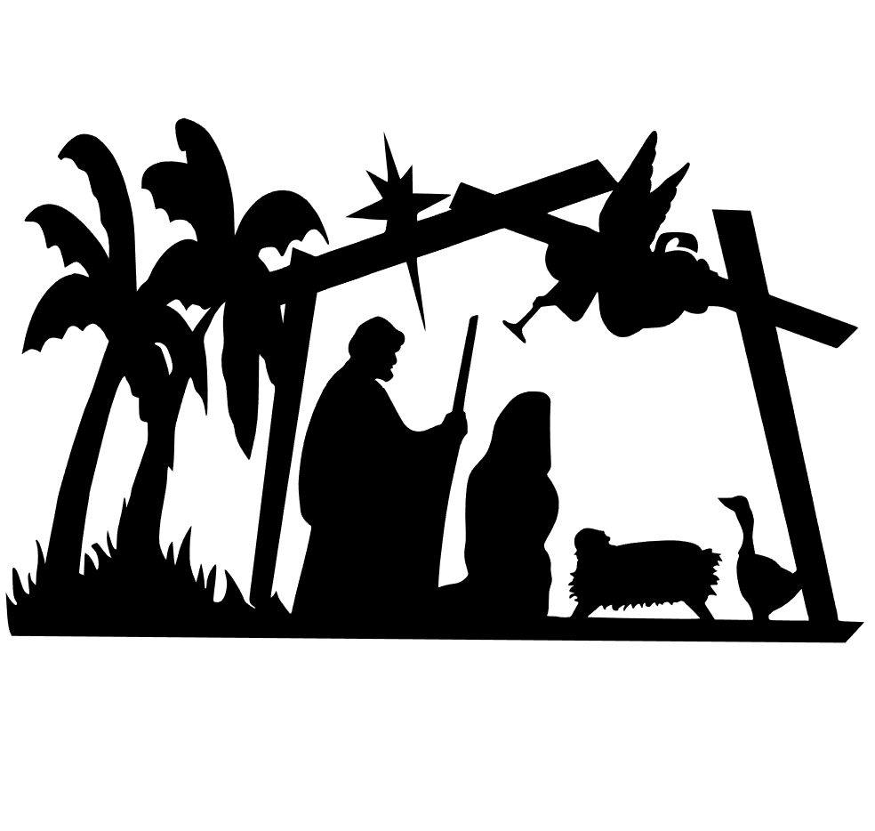 Download Nativity Silhouette Svg at GetDrawings.com | Free for ...