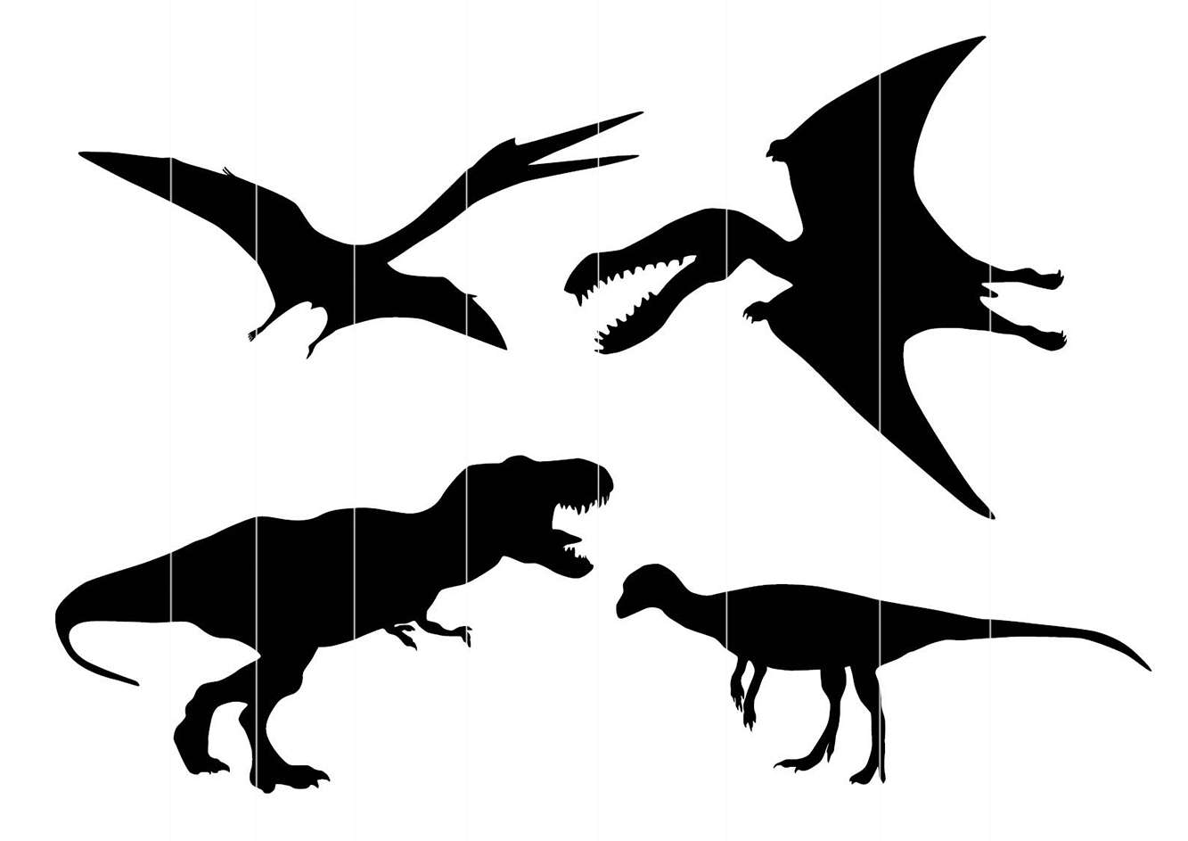 Pterodactyl Silhouette At Getdrawings