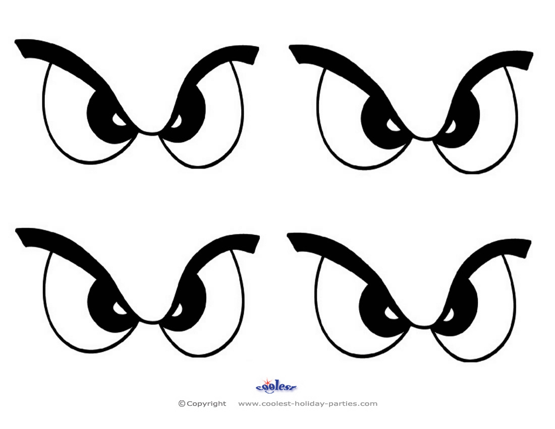 Scary Eye Silhouette At Getdrawings