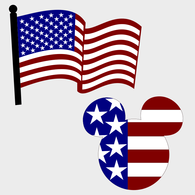Download Silhouette Of American Flag at GetDrawings | Free download