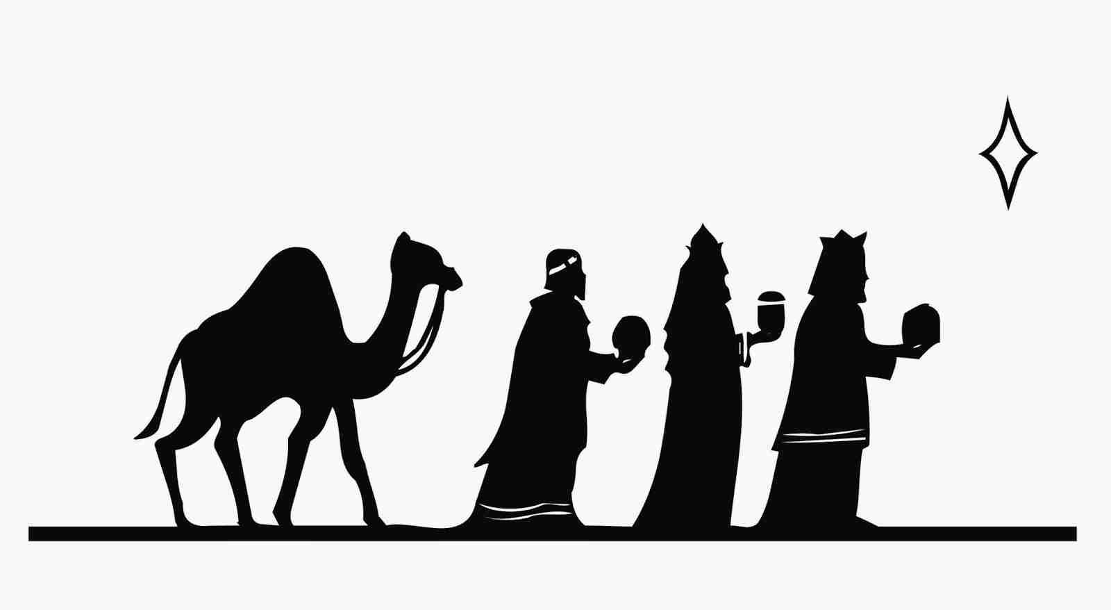 Silhouette Of Wise Men At Getdrawings