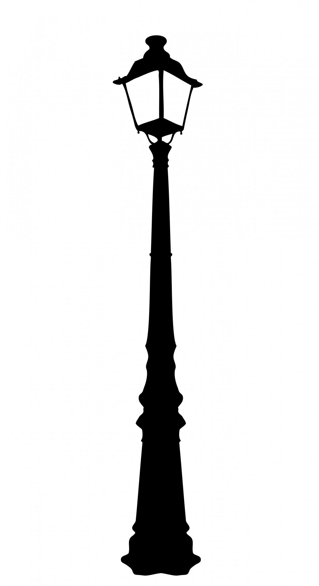 Street Lamp Silhouette At Getdrawings