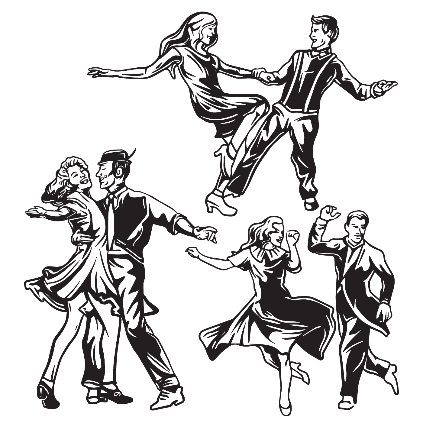 Tap Dance Silhouette At Getdrawings