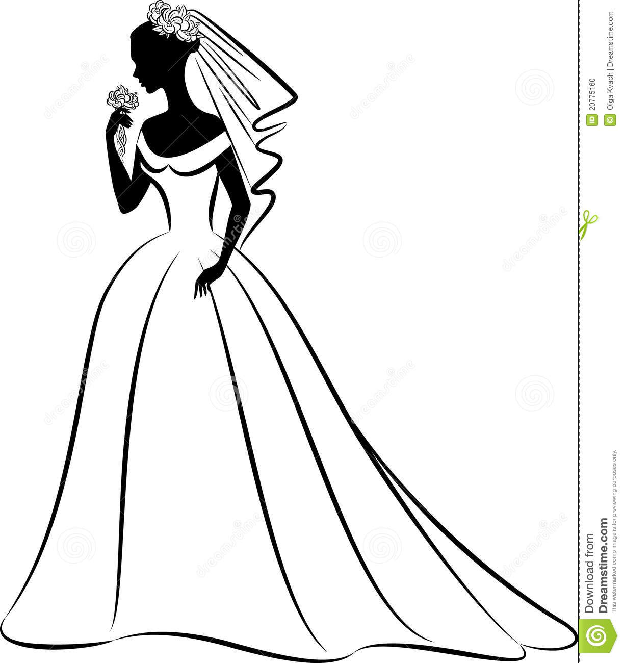 Wedding Party Silhouette Template Free At Getdrawings