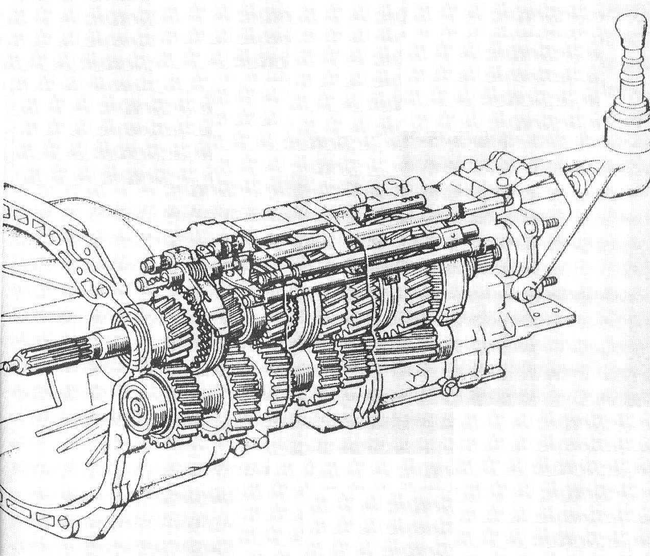 6 Speed Manual Diagram