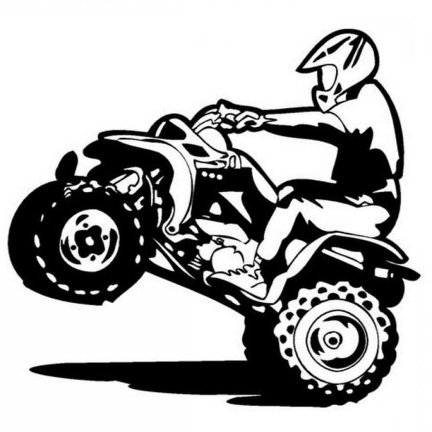 4 wheeler vector at getdrawings  free download