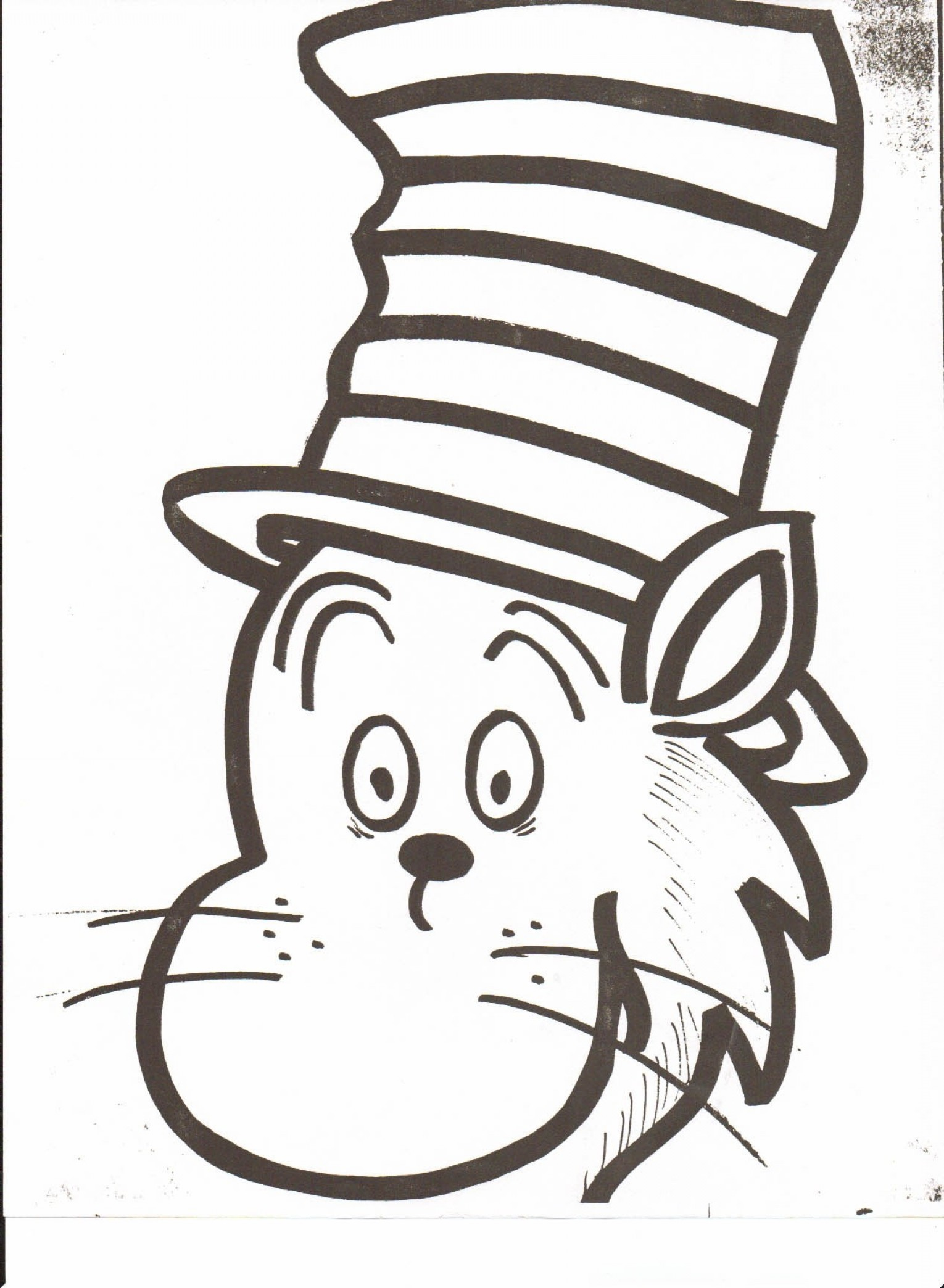 Dr Seuss Hat Vector At Getdrawings