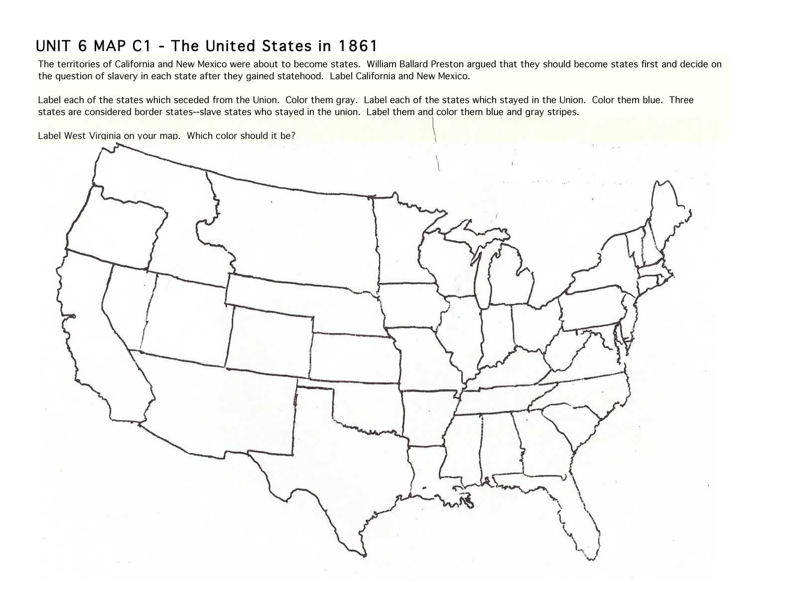 Us Map Vector Outline At Getdrawings