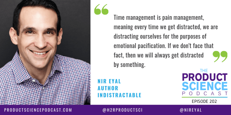 quote from Nir Eyal