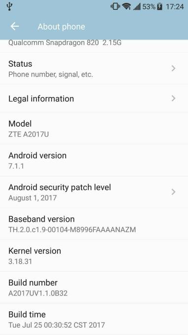 Android Security Patch Level