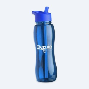 Bernie Sanders water bottle (https://store.berniesanders.com/products/water-bottle-blue-bernie)