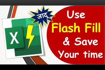 Use Flash Fill for Split & merge cells in Excel