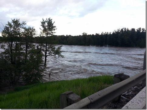 Bowmont Park Flood 2 June 22 2013