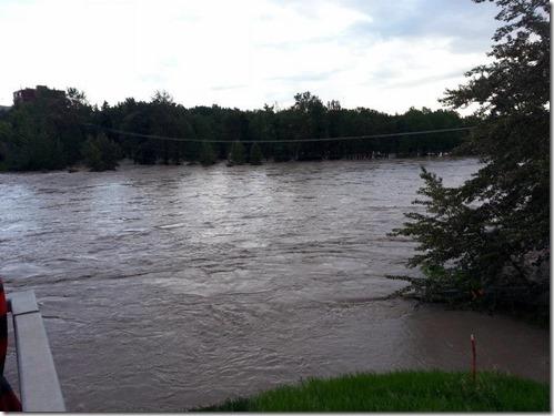 Bowness Park Flood June 22 2013