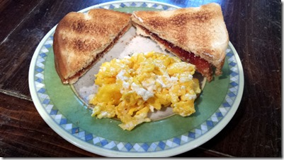 Cheesy Eggs June 15 2014