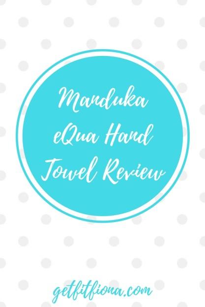 Manduka eQua Hand Towel Review