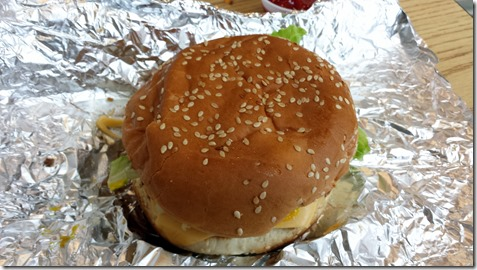 Five Guys Burger August 3 2014