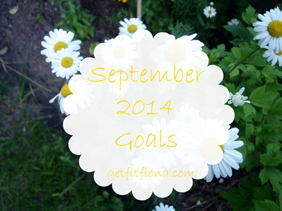 September Goals September 1 2014 Title