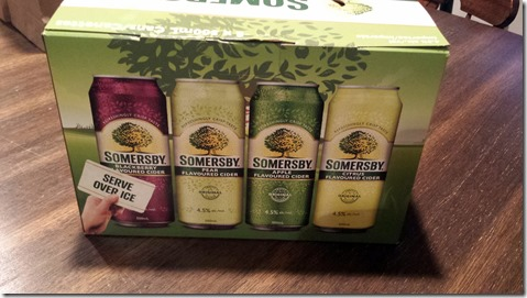 Somersby Variety Pack August 4 2014