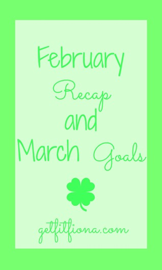 March Goals March 2 2015