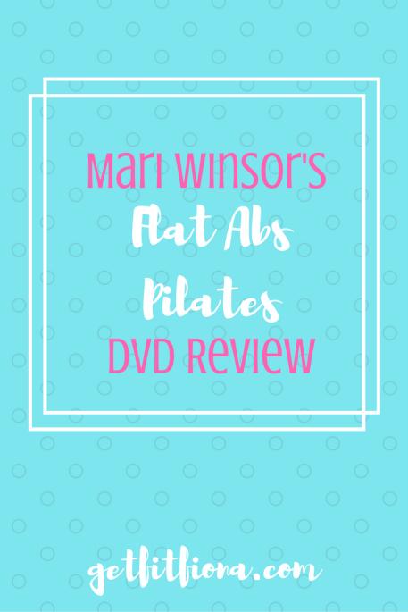 Mari Winsor's Flat Abs Pilates DVD Review