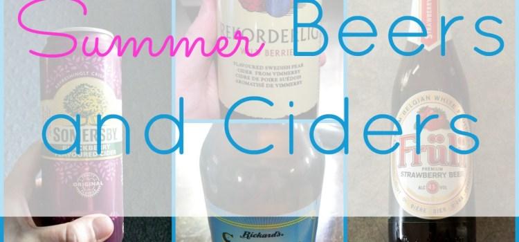 My Favorite Summer Beers and Ciders