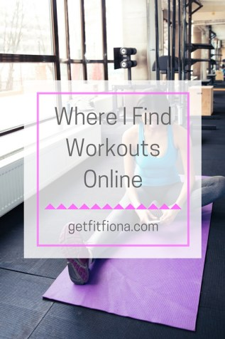Where I Find Workouts Online