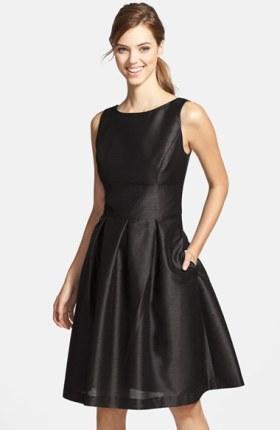 Black Dress Holiday Fashion December 7 2015