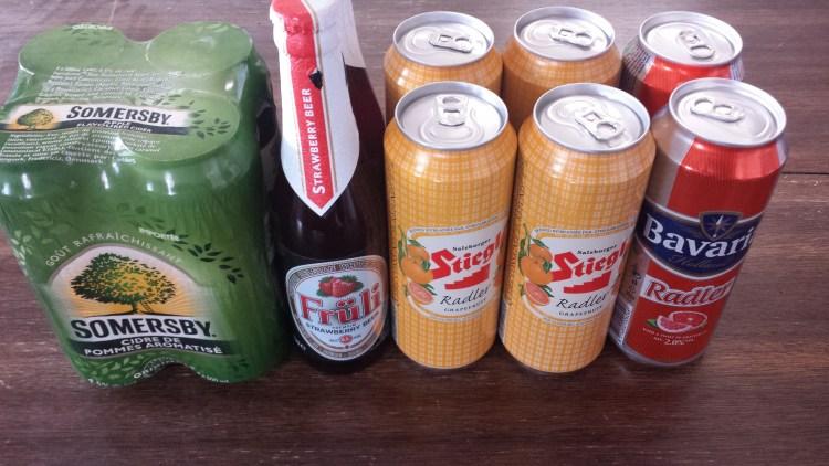 Ciders Radlers