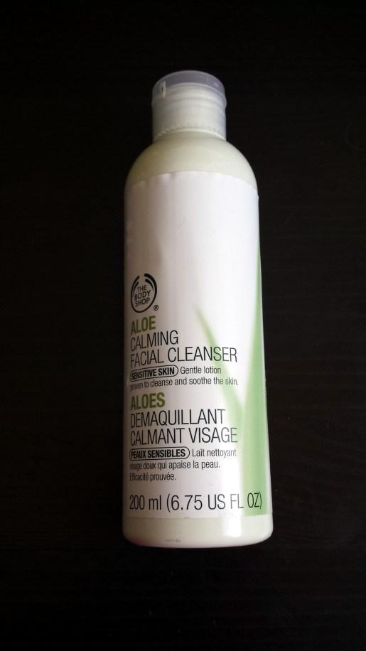 The Body Shop Aloe Facial Cleanser