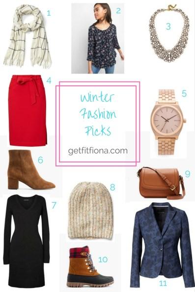 Winter Fashion Picks