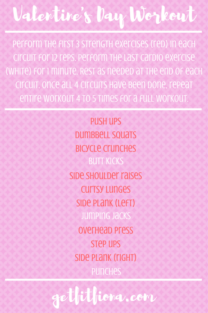 Valentine's Day Workout