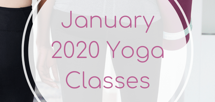 January 2020 Yoga Classes