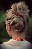 Cute messy summer hair