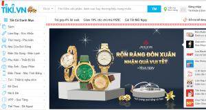 Trang TMĐT Tiki.vn đang chuẩn bị nhận một khoản đầu tư khủng?