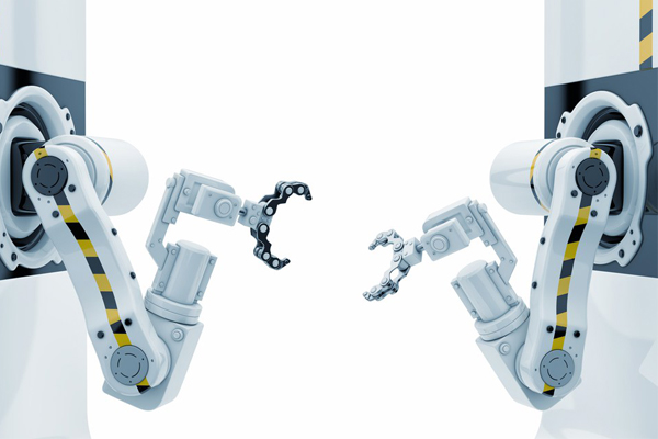 robotic arms white background claws freepoint technologies