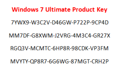 windows 7 ultimate free download with key