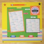 3 Tips To Choose Multi Photo Scrapbook Layouts In The Store School Scrapbook Page School Scrapbook Layout 12 X 12 Scrapbook Star Student School Pictures First Day Of School Grade School