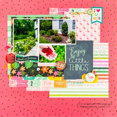 3 Tips to Choose Multi Photo Scrapbook Layouts in the Store Scrapbook Layout Title Using Pocket Card Scrapbook With Lynda