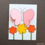 3d Craft Paper 3d Paper Butterfly Craft 7590