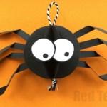 3d Craft Paper Cute Paper Spider Diy 3d craft paper|getfuncraft.com