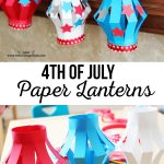 4th Of July Paper Crafts 4th Of July Lanterns